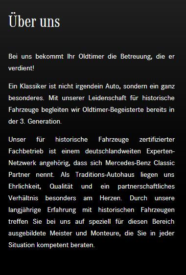 Klassische Fahrzeuge für  Eislingen (Fils)