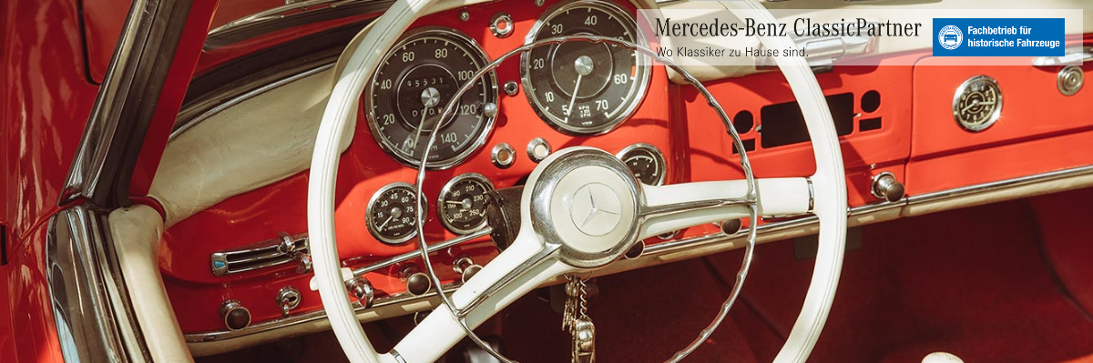 Oldtimer Restauration Stuttgart ツ 🥇 Müller Classic » Old- und Youngtimer Fachwerkstatt / Mercedes Benz Classic Partner