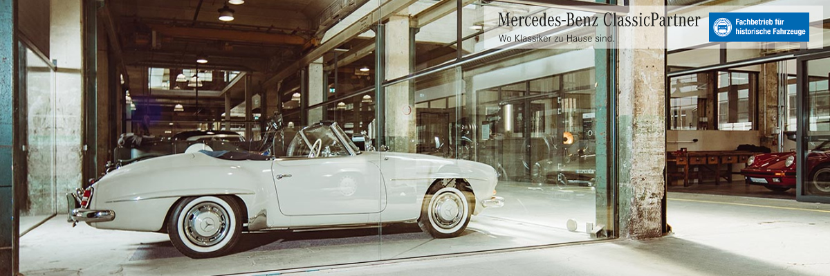 Oldtimer Restauration Erlangen ツ 🥇 Müller Classic » Old- und Youngtimer Fachwerkstatt, Mercedes Benz Classic Partner