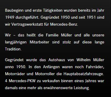 Mercedes Benz Vertragswerkstatt für 5400 Baden