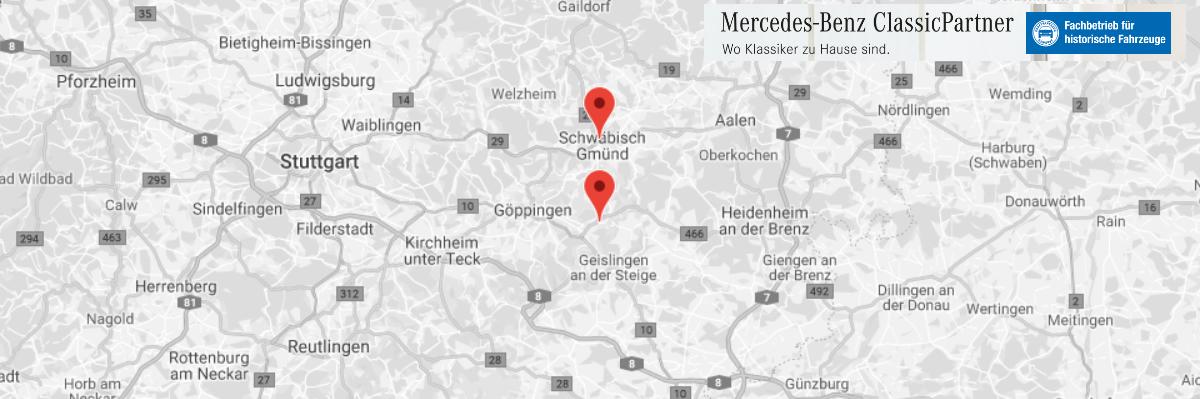 Mercedes Benz_Classic_Werkstatt für  Eislingen (Fils), Heiningen, Rechberghausen, Birenbach, Schlat, Ottenbach, Eschenbach oder Salach, Göppingen, Süßen
